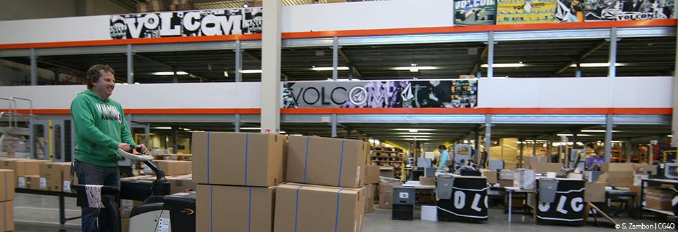 Volcom, plateforme logistique