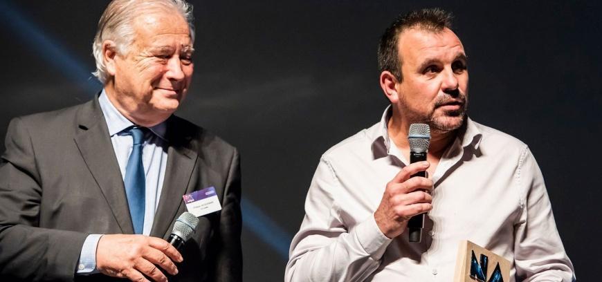 Thierry Mignot, président de Flovea (à droite)