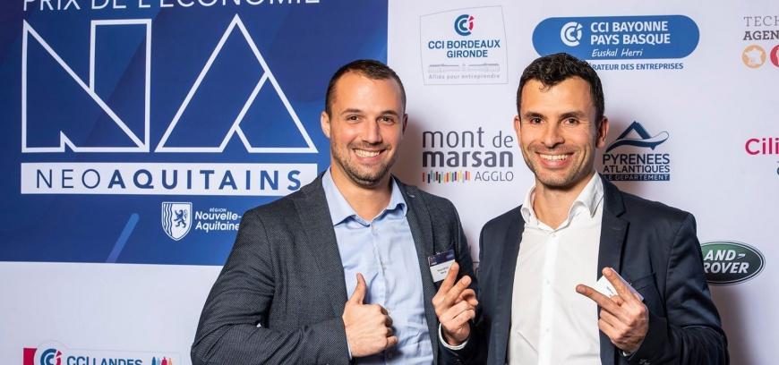 Manuel Mercé et Mathieu Neuville